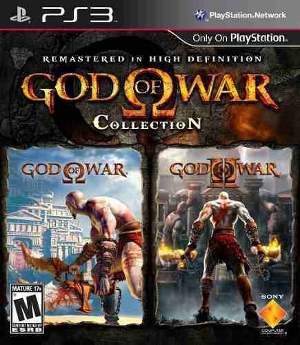 God Of War Collection 1 E 2 Hd - Playstation 3 Jogos Ps3