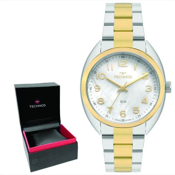 Relógio Technos Feminino Original C/garantia Nf 2036mlb/5b
