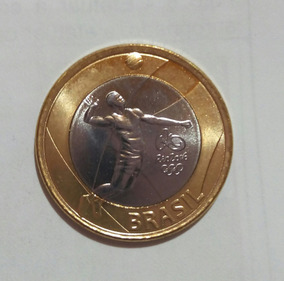Brasil -moeda Comemorativa Olimpiadas- Volei # M1