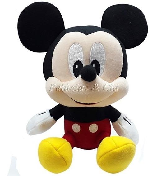 Pelúcia Mickey Big Head - Long Jump - Promoção