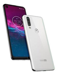 Smartphone Motorola One Action Xt2013-1 4gb 128gb - Branco