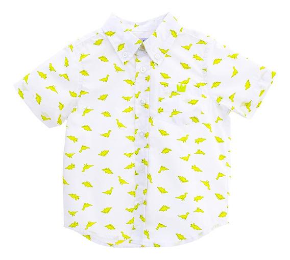 Camisas Bebé Niño Estampada Manga Corta Epk