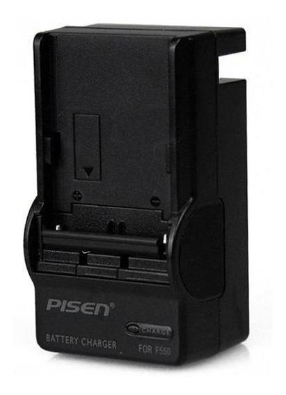Carregador De Bateria Sony E Similares F550 / 970 - Pisen
