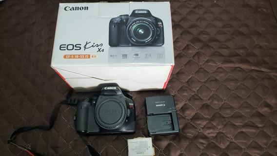 Câmera Canon Eos Kiss X4 - T2i - Corpo - 13.000 Cliques
