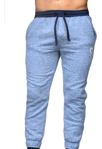 Pantalon Unisex Jogger Fit Tela De Felpa Marca Sant´eli
