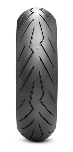 Imagen 1 de 1 de Cubierta trasera para moto Pirelli Supersport Diablo Rosso II para uso sin cámara 130/70 R17 H 62