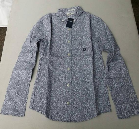 Camisa Para Niño Abercrombie Modelo Cebra Talla Chica .