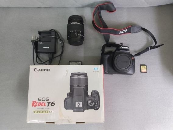 Câmera Canon T6