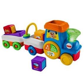 Trem Primeiras Palavras Fisher-price Aprender Brincar Fjb49