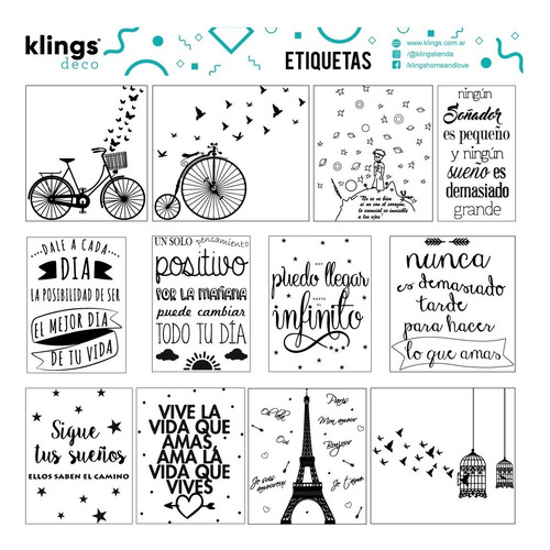 Etiquetas Para Frascos, Frases, Transparente