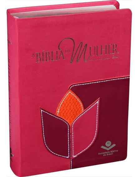 Bíblia Da Mulher Almeida Revista E Corrigida 13,0 X 19,0 Cm