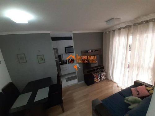 Apartamento Com 2 Dormitórios À Venda, 49 M² Por R$ 260.000,00 - Jardim Rossi - Guarulhos/sp - Ap2730