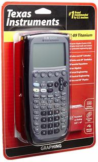 Calculadora Texas Instruments Ti-89 Titanium Graphing Nueva