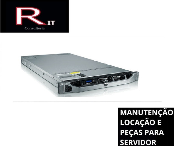 Servidor Dell Poweredge R410 32gb 2 Sas 300gb