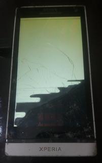 **defeito** Ler Descriçao Celular Sony Xperia S Lt26i Branco