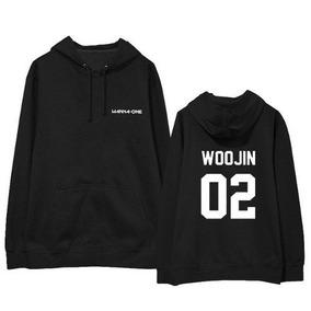 Moletom Canguru K-pop Wanna One Woojin 02 2019!!