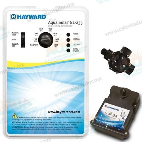 Control Automático Para Calentador Solar De Alberca Hayward
