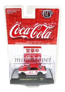 Miniatura Nissan Skyline Gt-r 1971 Coca Cola M2 Machines