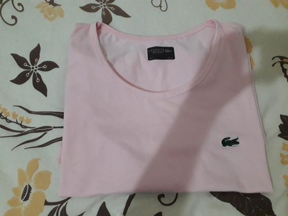 Camiseta Cavada Lacoste Original