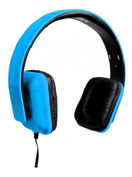 Fone De Ouvido Tipo Headphone Dobrável Com Microfone