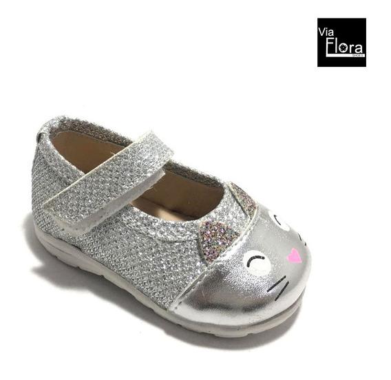 Guillerminas De Niñas Con Glitter Y Abrojo (11/110)
