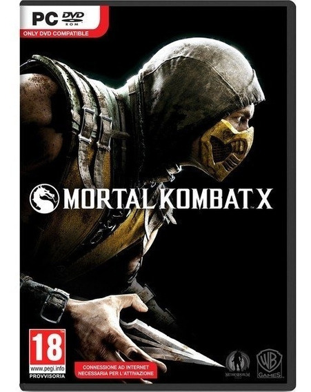 Jogo Mortal Kombat X Pc *novo*