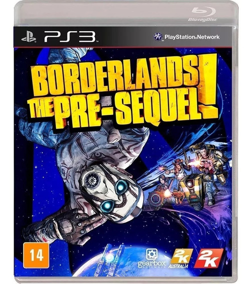 Ps3 Borderlands: The Pre-sequel! - Mídia Física Novo Lacrada