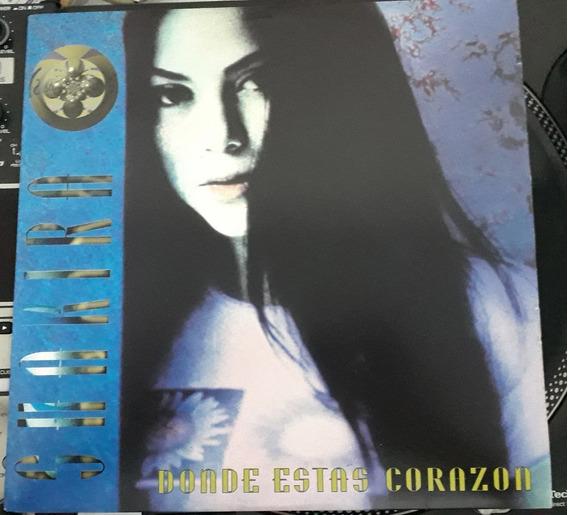 Shakira - Donde Estas Corazon (remixes) Vinil House Promo