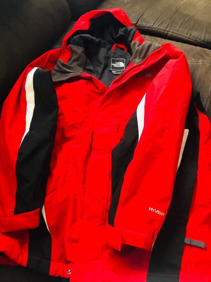 Chamarra The North Face Roja