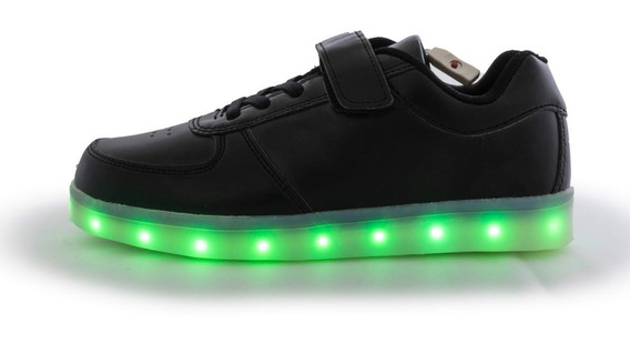 Tenis Led Tipo Airforce 1 Luces Tallas 17-22
