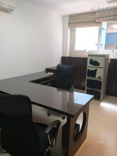 Imagem 1 de 30 de Conjunto À Venda, 38 M² Por R$ 450.000,00 - Gonzaga - Santos/sp - Cj0036