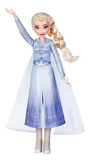 Muñeca Elsa O Anna Canta Frozen Hasbro E5498 Educando Full