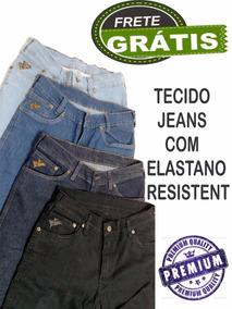 Kit2 Calças Masculinas Jeans Segura Peão