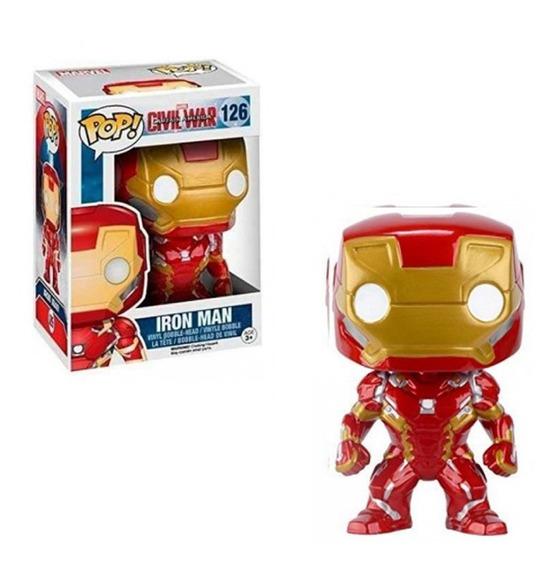Funko Pop Marvel Civil War - Iron Man 126