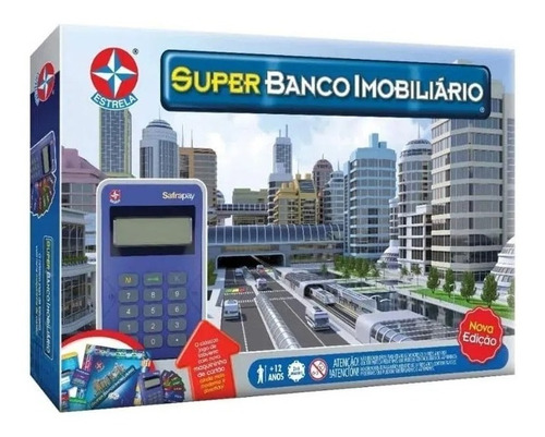 Jogo De Tabuleiro Board Game Super Banco Imobiliário Estrela