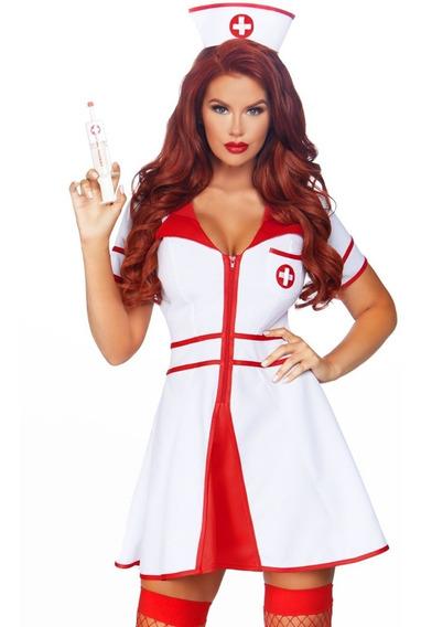 Disfraz De Mujer Enfermera Dulce