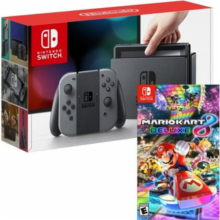 Nintendo - Switch 32gb Console And Mario Kart 8 Deluxe