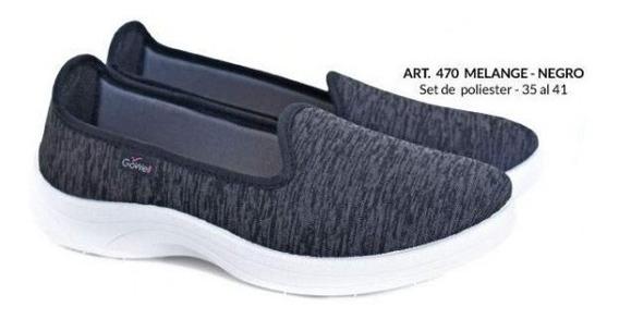 Zapatillas De Mujer Tipo Pancha (gowell 470)