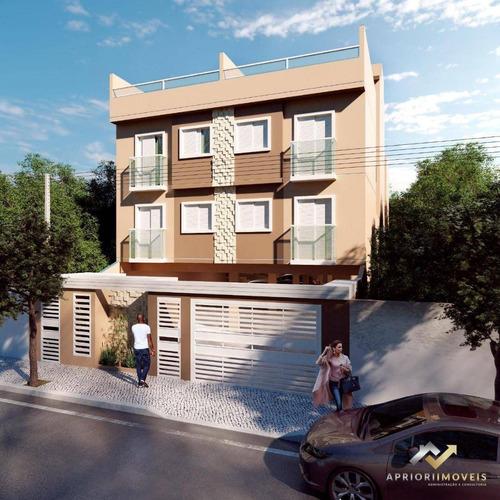 Cobertura À Venda, 96 M² Por R$ 335.000,00 - Parque Novo Oratório - Santo André/sp - Co0729