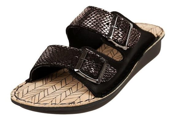 Sandalia Urbanas Stitching Sabine - 35 Al 41 - Negro - Cuero