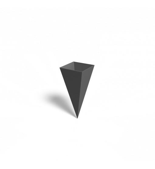 Cono Descartable (x100) Sin Armar Ají Diseño