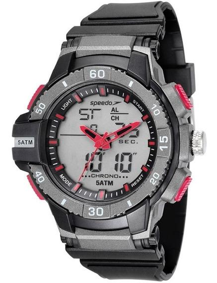 Relógio Masculino Speedo Esportivo Evn-p1 À Prova D