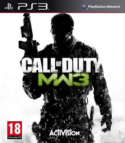 Call Of Duty Modern Warfare 3 Ps3 - Leia Descrição