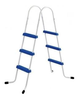 Escalera Para Piletas Ap Hasta 1.20 Mts De Altura