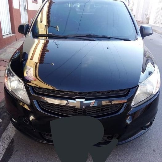 Chevrolet Sail Lt Motor 1400 Modelo 2013 Negro 5 Puertas