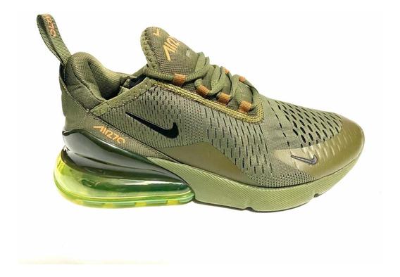 Tenis Nike 270 Verde Militar