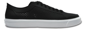 Zapato Crocs Caballero Citilane Roka Court Negro