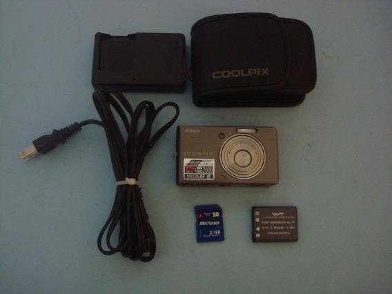 Camera Nikon - Coolpix S-500 - 7.1 Mp - Japan - Descrição