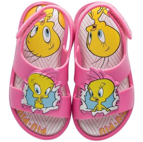 Sandália Feminina Piu Piu Looney Tones Grendene Kids 22180