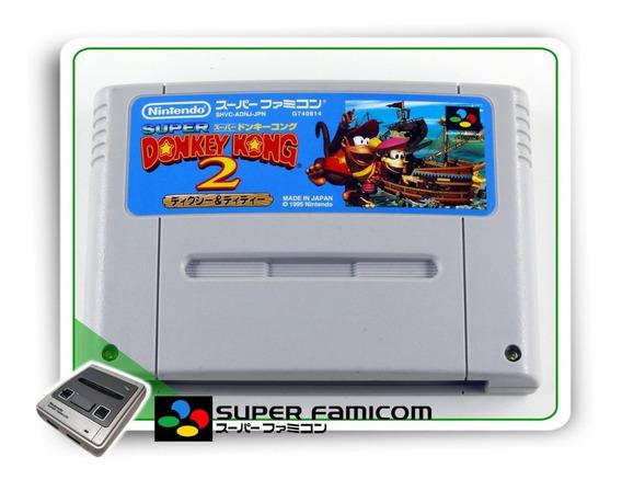 Donkey Kong Country 2 Original Super Famicom Sfc